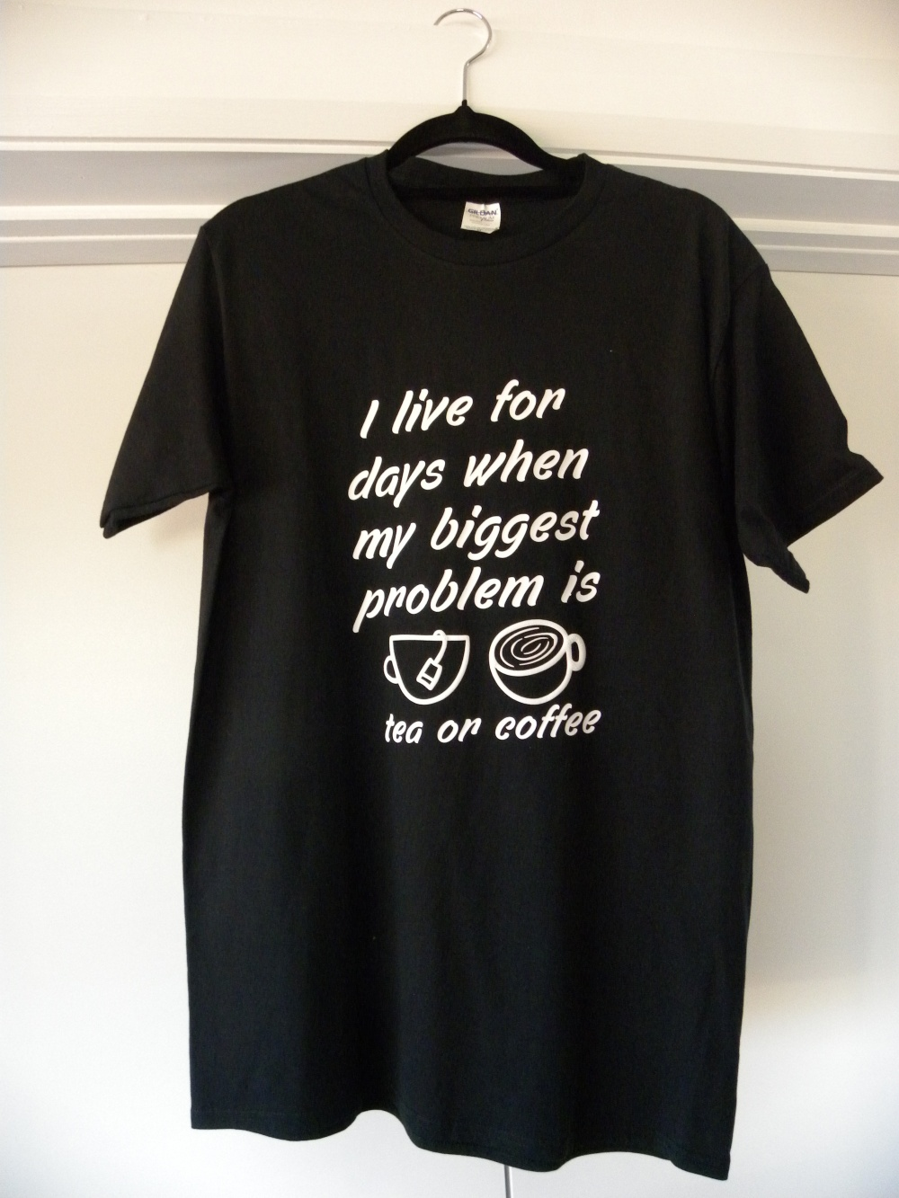 black I live for days shirt