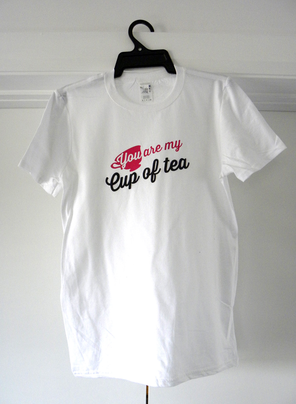 crepe myrtle,custom tshirt design, you are my cup of tea white